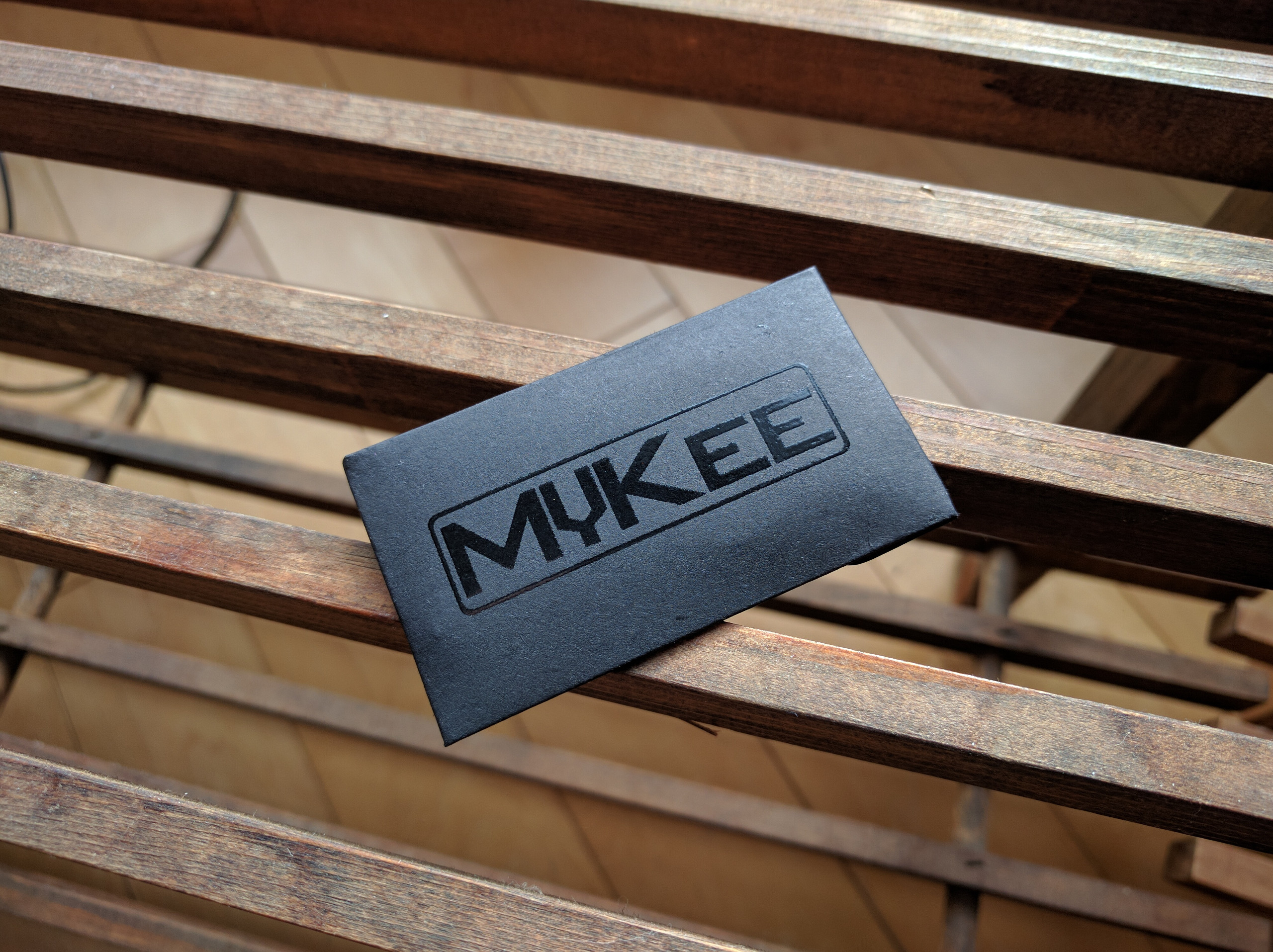 MyKee Black Envelope