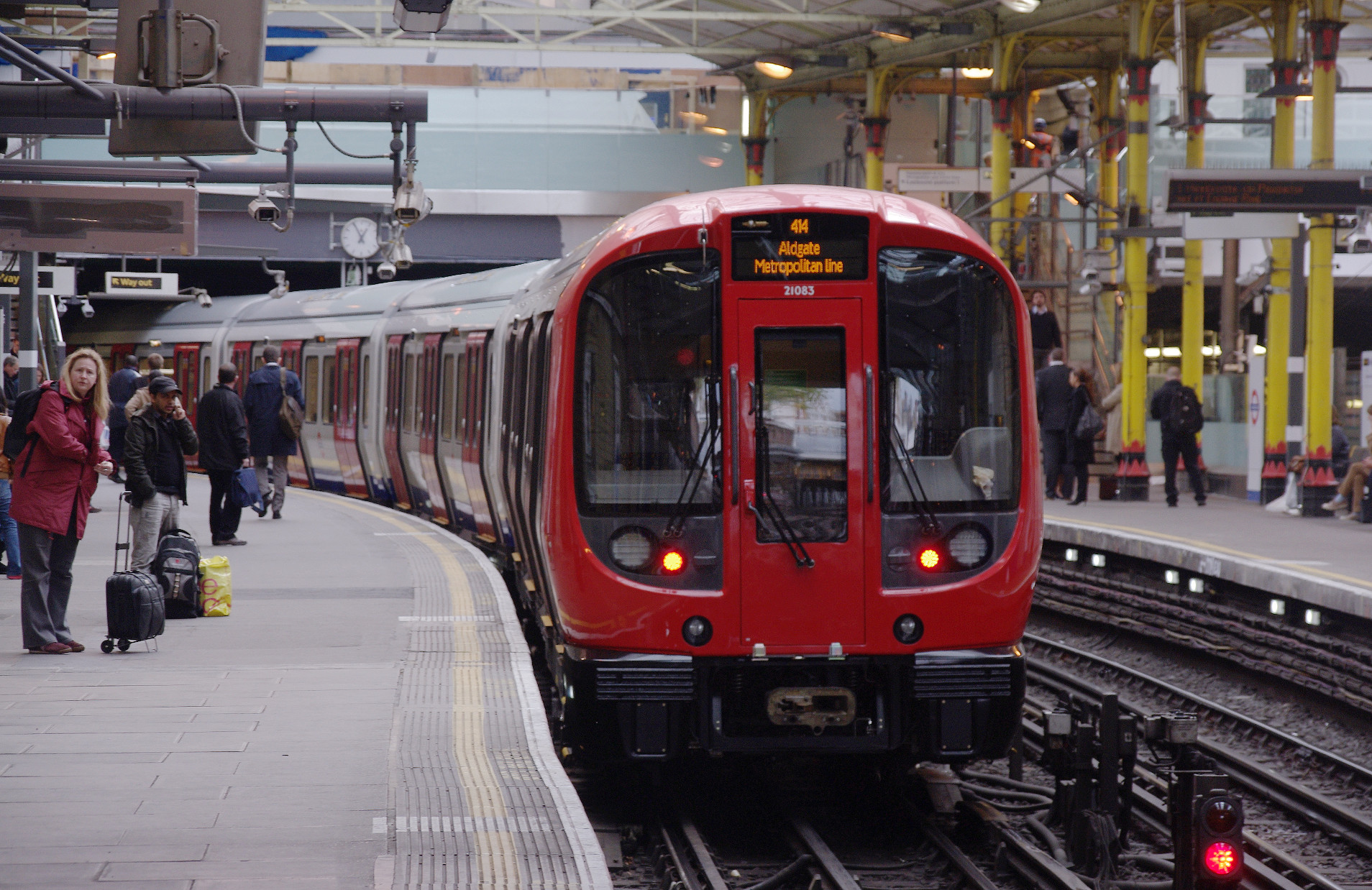 London Underground Farringdon Station