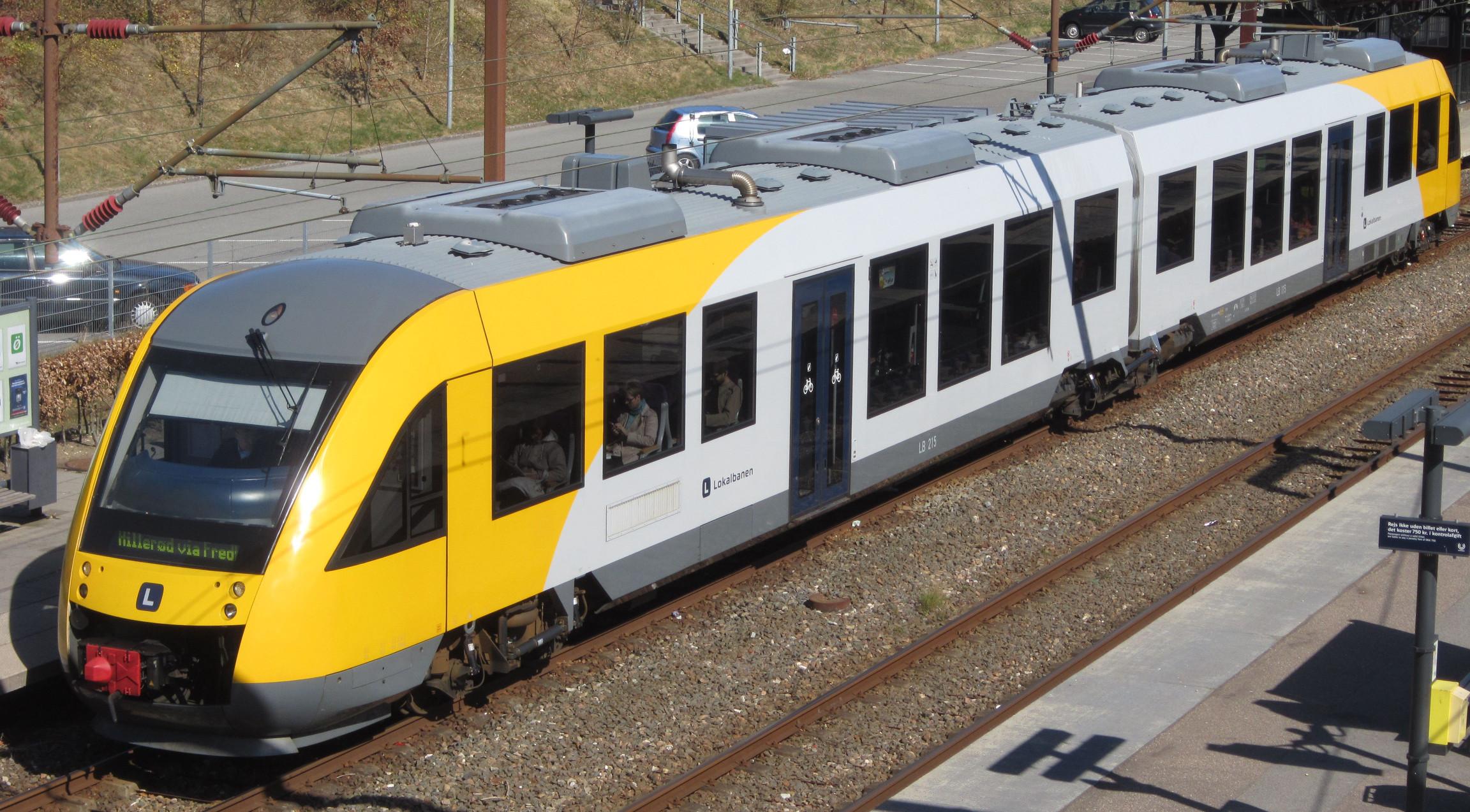 Lokalbanen to Hilleroed