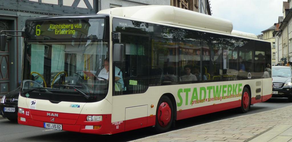 Public Bus in Marburg