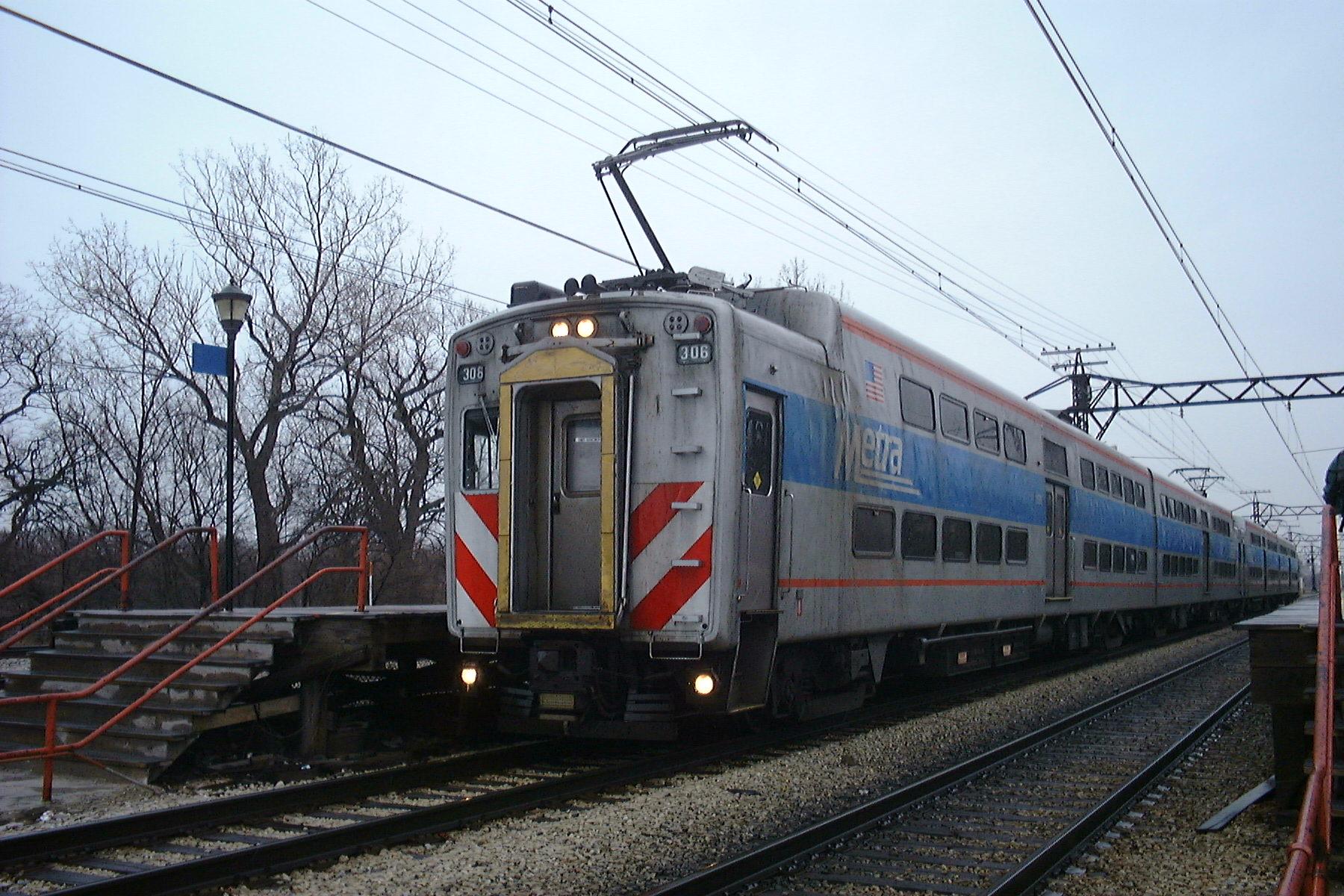 Metra Electric Train