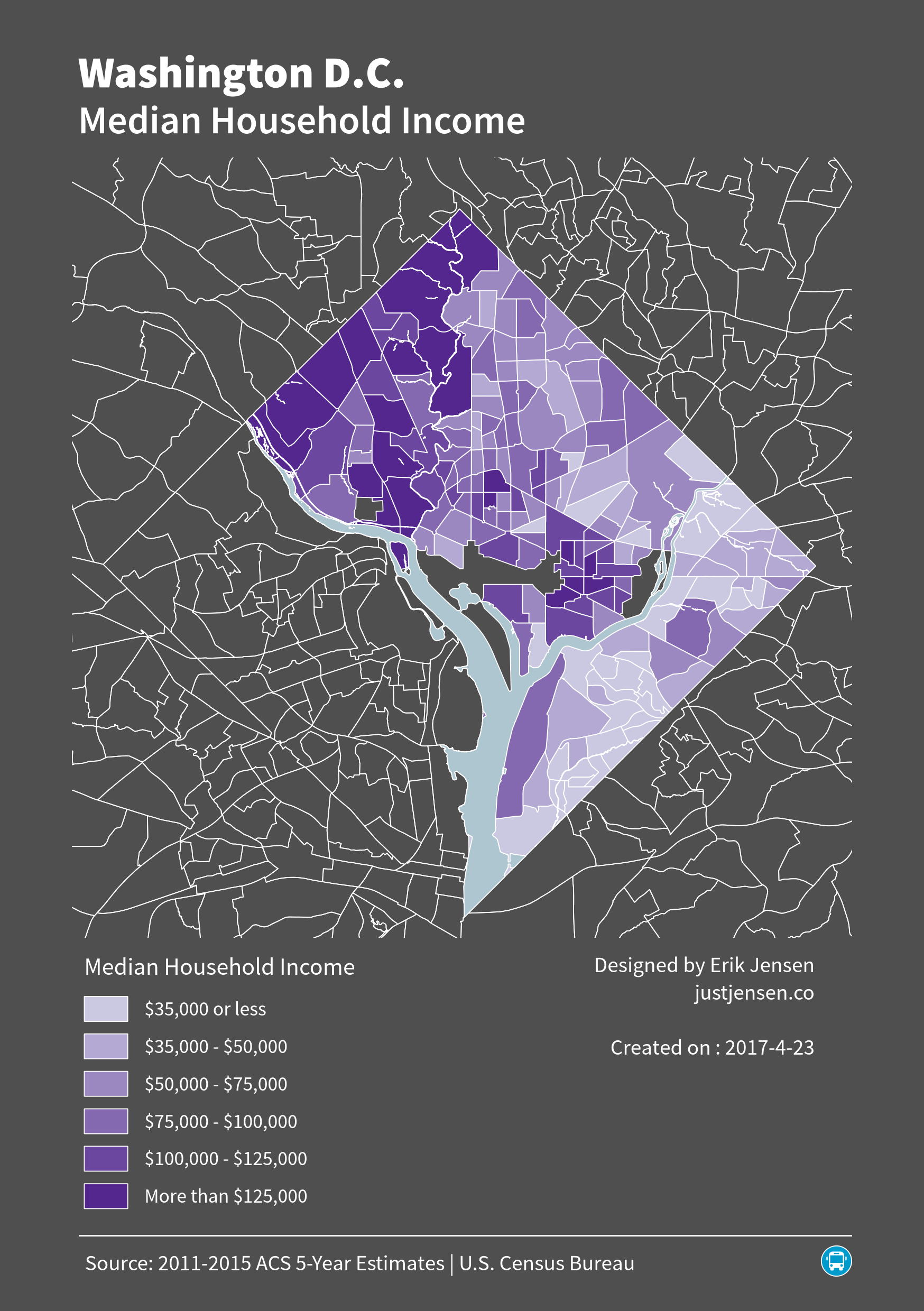 Income Inequality in Washington D.C.