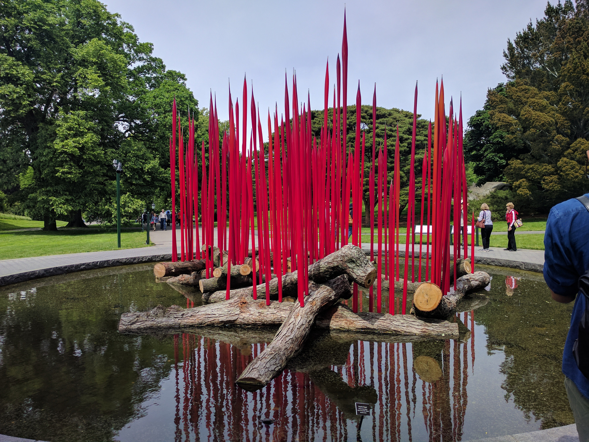 Photos From The Chihuly Exhibit At The Bronx Botanical Gardens