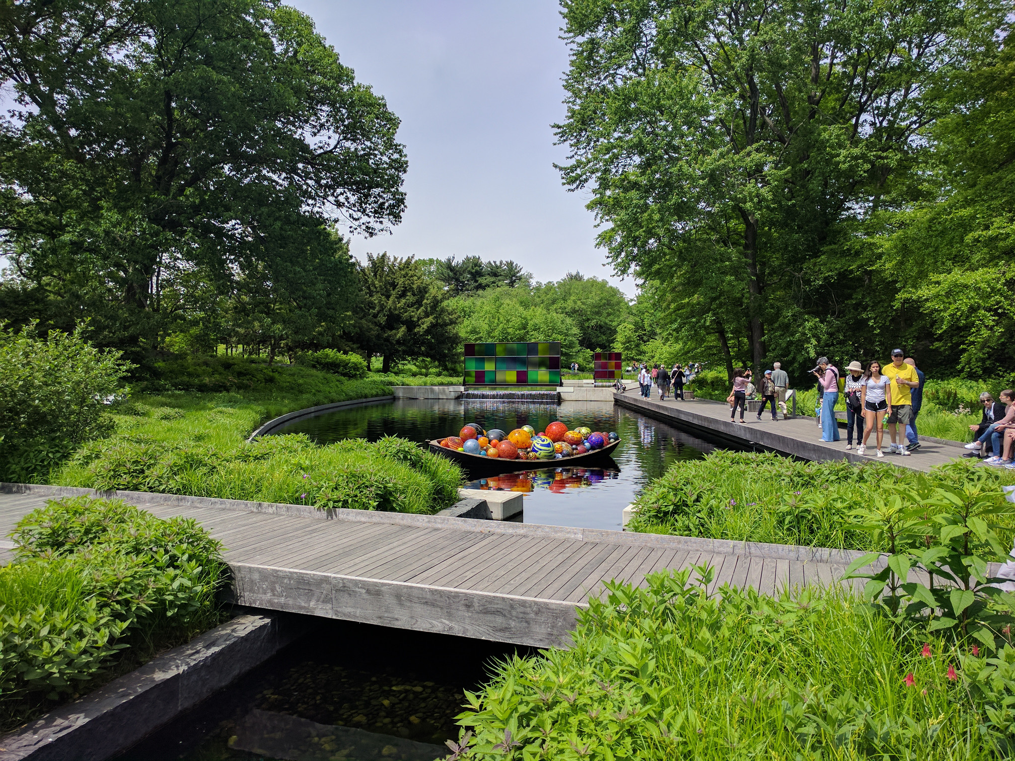 NYBG Pond and Bridge