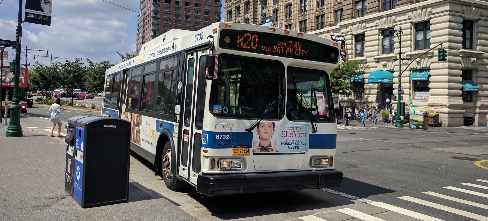 NYCT M20 Bus