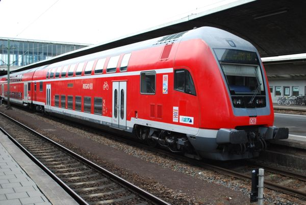 A Long Trip on Deutsche Bahn AG