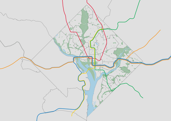 Using Parks and Transit in QGIS to Orient Local Readers